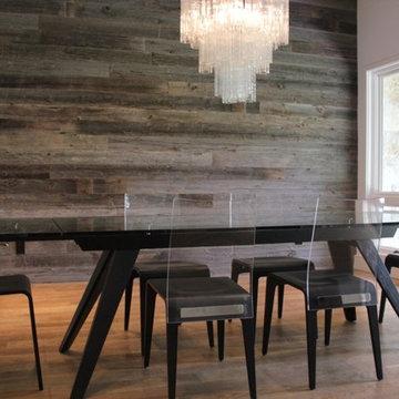 Reclaimed Barn Wood Walls