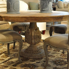 Eclectic Dining Room by Cornerstone Home Interiors