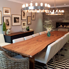 contemporary dining tables by Urban Tree Salvage