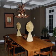 Eclectic Dining Room by Urban Tree Salvage