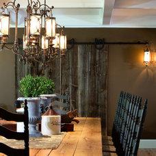 Farmhouse Dining Room by Longleaf Lumber Inc