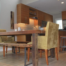 Contemporary Dining Room by Urban Wood Goods