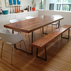 Contemporary Dining Room by UrbanWood Goods