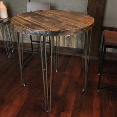 Modern Dining Room by JW Atlas Wood Co.