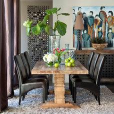 Contemporary Dining Room by I.O. Metro
