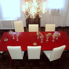 Contemporary Dining Room by d.m.teriors