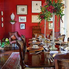 Traditional Dining Room by Chad Chenier Photography
