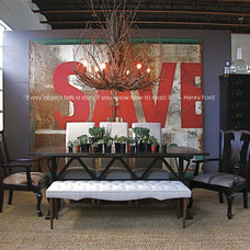 Eclectic Dining Room by red: modern lines . vintage finds