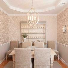 Contemporary Dining Room by Heather ODonovan Interior Design