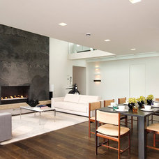 Contemporary Dining Room by Pennington Phillips