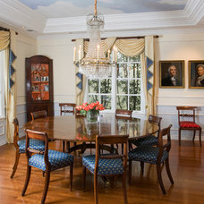 Traditional Dining Room by Mark Reuter