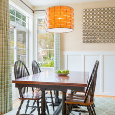 Transitional Dining Room by Design Harmony