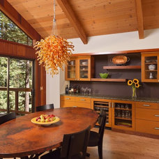 Modern Dining Room by A D Construction - Building & Design
