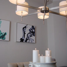 Contemporary Dining Room by Apartment 46 for the Home