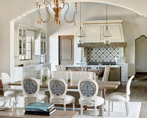 Mediterranean open sink dining room design ideas for Dining room sink designs