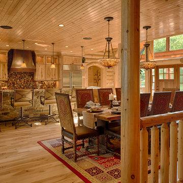 Refined Log Home