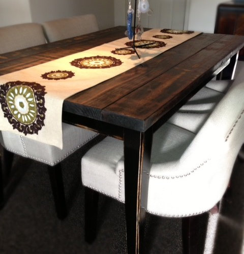 Refinished Dining Room Tables: Refinishing Dining Room Table Home Design Ideas, Pictures