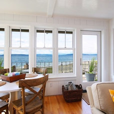 Beach Style Dining Room by West Seattle Window & Door LLC