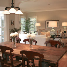 Traditional Dining Room by Left Bank Home