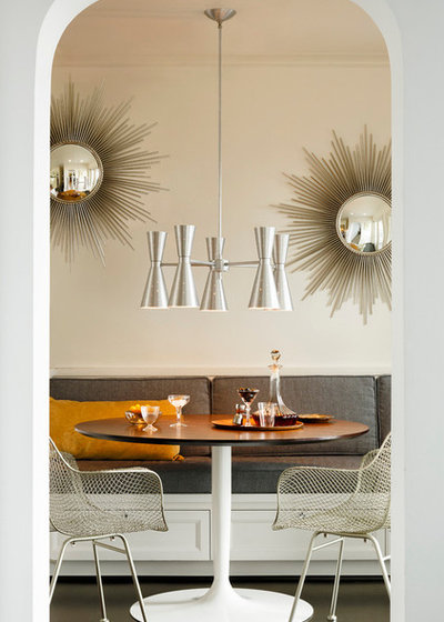 Midcentury Dining Room by Rejuvenation