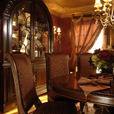 Traditional Dining Room by JB Interiors, Inc.