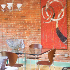 Contemporary Dining Room by Artaic - Innovative Mosaic