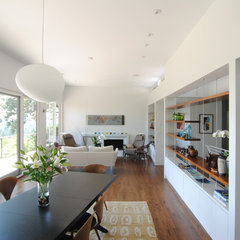 modern dining room by Paul McKean architecture llc