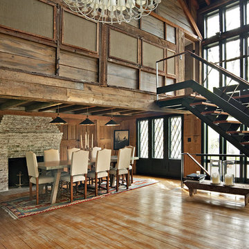 remodeled barn with addition