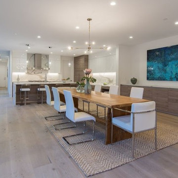 remodeling kitchen and living room in venice dining room