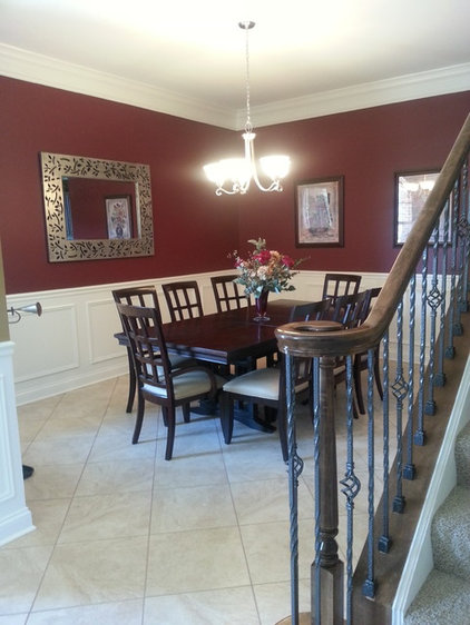 Traditional Dining Room by SKYCREST HOMES LLC
