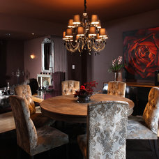 Contemporary Dining Room by NF interiors