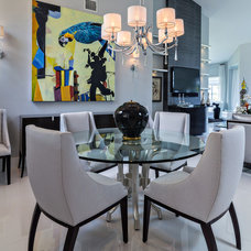 Contemporary Dining Room by Deborah Freedman Design