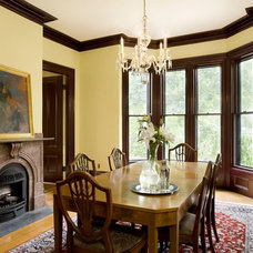 Traditional Dining Room by Landmark Services Inc