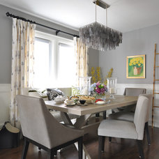 Eclectic Dining Room by Meredith Heron Design