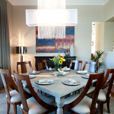 Eclectic Dining Room by DESIRED SPACE, LLC. | Planning & Design