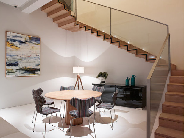 Contemporary Dining Room by Light Collab