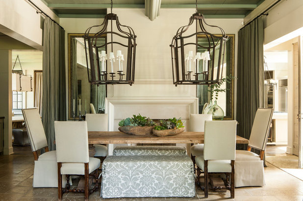 Farmhouse Dining Room by McALPINE