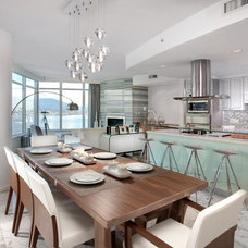 Contemporary Dining Room by Olive E + O