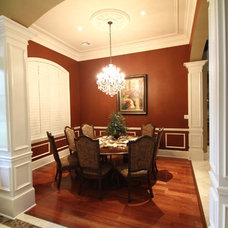 Traditional Dining Room by P.A.S. Interiors, LLC