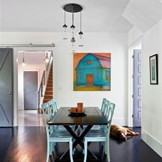 Modern Dining Room by Jacy Painter Kelly