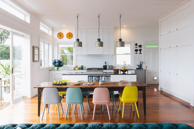 Contemporary Dining Room by JKW Interior Architecture & Design
