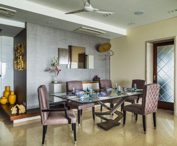 Contemporary Dining Room by Baldiwala Associates