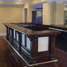Traditional Dining Room by Brooks Custom