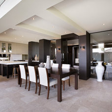 Contemporary Dining Room by Bagnato Architects