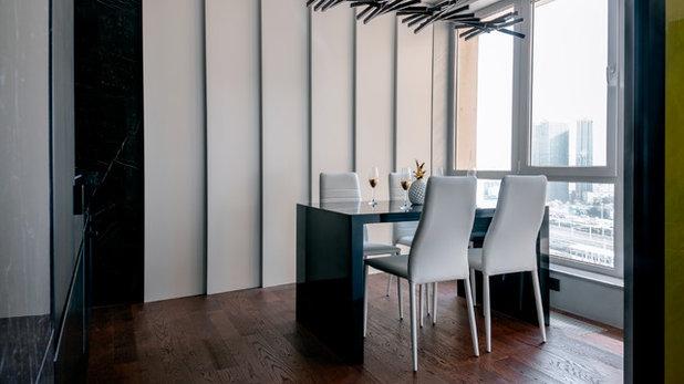 Contemporary Dining Room by Dmitriy Korshunov