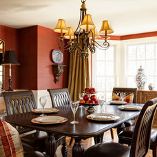 Traditional Dining Room by Chad Jackson Photo