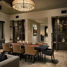 Contemporary Dining Room by Ownby Design