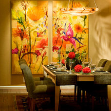 Traditional Dining Room by Randall Whitehead Lighting Solutions