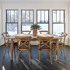 Traditional Dining Room by Meriwether Inc