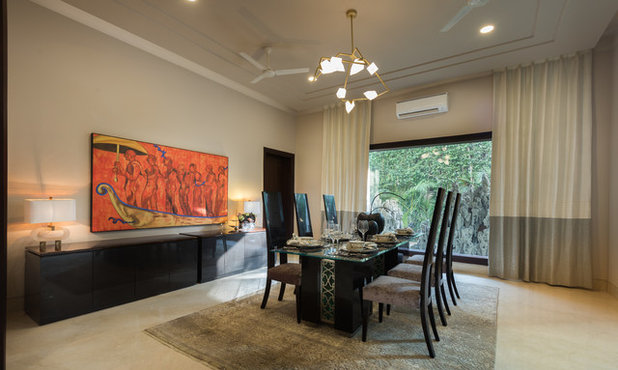 Contemporary Dining Room by Essentia Environments